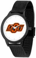 Oklahoma State Cowboys Black Mesh Statement Watch