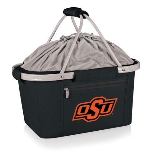 Oklahoma State Cowboys Black Metro Picnic Basket
