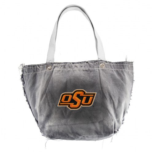 Oklahoma State Cowboys Black NCAA Vintage Tote Bag
