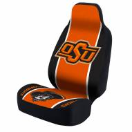 Oklahoma State Cowboys Black/Orange Head Logo Universal Bucket Car Seat Cover