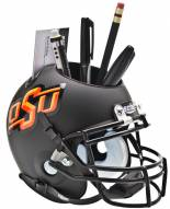 Oklahoma State Cowboys Black Schutt Football Helmet Desk Caddy
