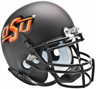 Oklahoma State Cowboys Black Schutt Mini Football Helmet
