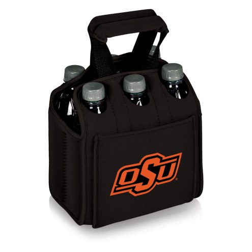 Oklahoma State Cowboys Black Six Pack Cooler Tote