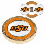 Oklahoma State Cowboys Challenge Coin with 2 Ball Markers