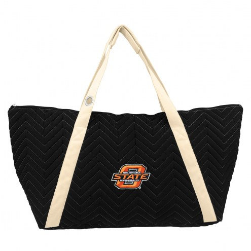 Oklahoma State Cowboys Chevron Stitch Weekender Bag