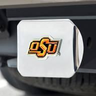 Oklahoma State Cowboys Chrome Color Hitch Cover
