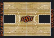 Oklahoma State Cowboys College Home Court Area Rug