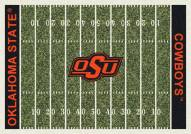 Oklahoma State Cowboys College Home Field Area Rug