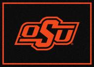 Oklahoma State Cowboys College Team Spirit Area Rug