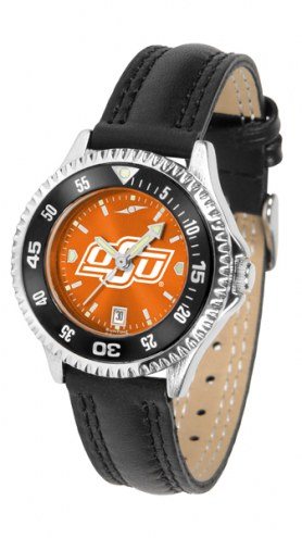 Oklahoma State Cowboys Competitor AnoChrome Women's Watch - Color Bezel