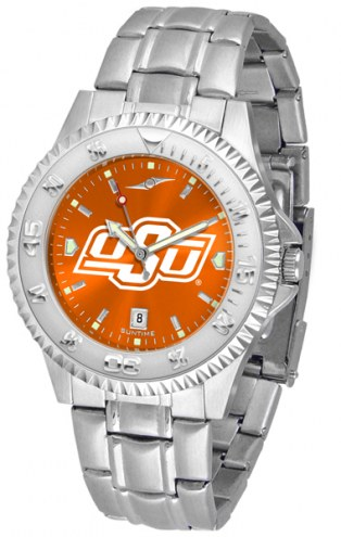 Oklahoma State Cowboys Competitor Steel AnoChrome Men's Watch