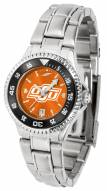 Oklahoma State Cowboys Competitor Steel AnoChrome Women's Watch - Color Bezel