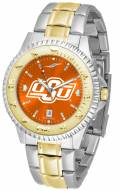 Oklahoma State Cowboys Competitor Two-Tone AnoChrome Men's Watch