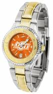 Oklahoma State Cowboys Competitor Two-Tone AnoChrome Women's Watch