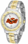 Oklahoma State Cowboys Competitor Two-Tone Men's Watch