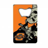 Oklahoma State Cowboys Credit Card Style Bottle Opener