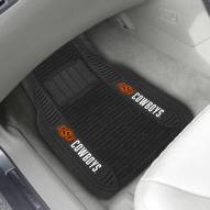 Oklahoma State Cowboys Deluxe Car Floor Mat Set