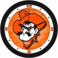 Oklahoma State Cowboys Dimension Wall Clock
