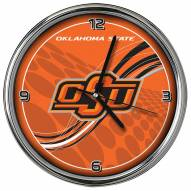 Oklahoma State Cowboys Dynamic Chrome Clock