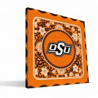 Oklahoma State Cowboys Eclectic Canvas Print