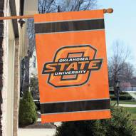 Oklahoma State Cowboys NCAA Applique 2-Sided Banner Flag