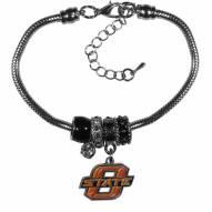 Oklahoma State Cowboys Euro Bead Bracelet