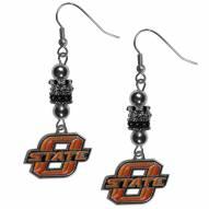 Oklahoma State Cowboys Euro Bead Earrings