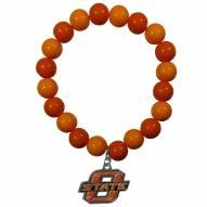 Oklahoma State Cowboys Fan Bead Bracelet