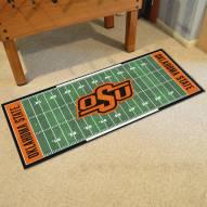 Oklahoma State Cowboys Football Field Runner Rug