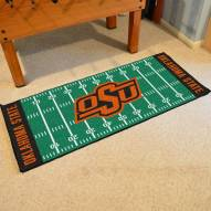 Oklahoma State Cowboys Football Field Runner Rug