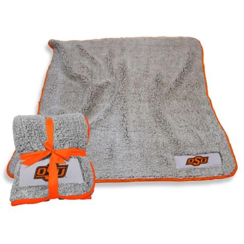 Oklahoma State Cowboys Frosty Fleece Blanket