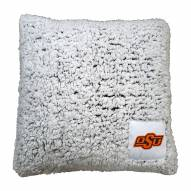Oklahoma State Cowboys Frosty Throw Pillow