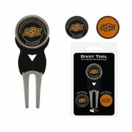 Oklahoma State Cowboys Golf Divot Tool Pack