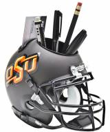 Oklahoma State Cowboys Grey Schutt Football Helmet Desk Caddy