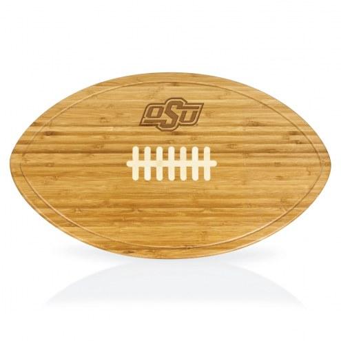 Oklahoma State Cowboys Kickoff Cutting Board