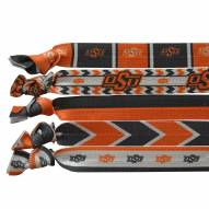 Oklahoma State Cowboys Knotted Hair Tie