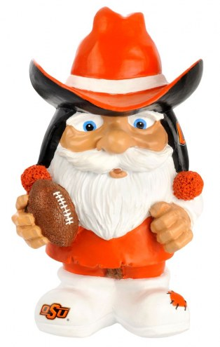 Oklahoma State Cowboys Mad Hatter Garden Gnome