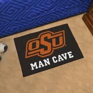Oklahoma State Cowboys Man Cave Starter Mat