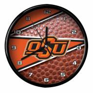 Oklahoma State Cowboys Football Clock