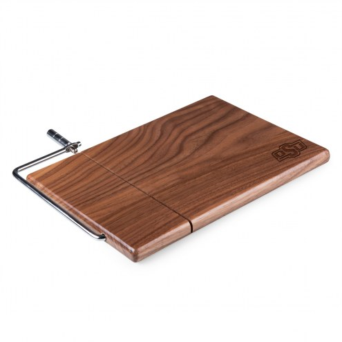 Oklahoma State Cowboys Meridian Cutting Board & Cheese Slicer