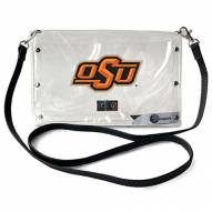 Oklahoma State Cowboys Clear Envelope Purse