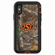 Oklahoma State Cowboys OtterBox iPhone X Defender Realtree Camo Case