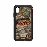 Oklahoma State Cowboys OtterBox iPhone XS Max Defender Realtree Camo Case