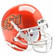 Oklahoma State Cowboys Pearl Orange Schutt Mini Football Helmet