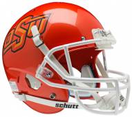 Oklahoma State Cowboys Pearl Orange Schutt XP Collectible Full Size Football Helmet