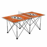 Oklahoma State Cowboys Pop Up 6' Ping Pong Table