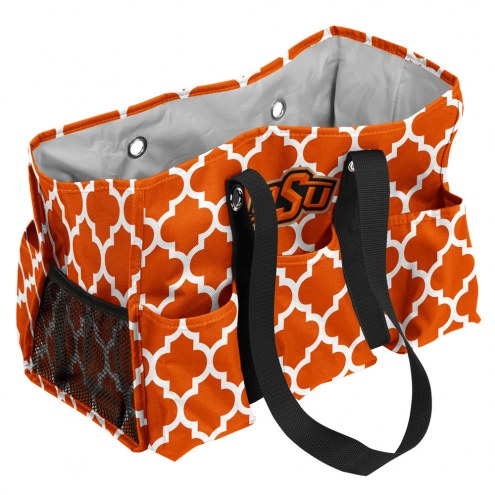 Oklahoma State Cowboys Quatrefoil Weekend Bag