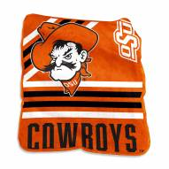 Oklahoma State Cowboys Raschel Throw Blanket