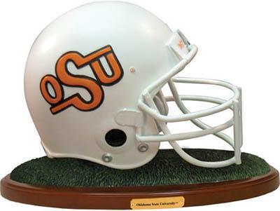 Oklahoma State Cowboys Collectible Football Helmet Figurine