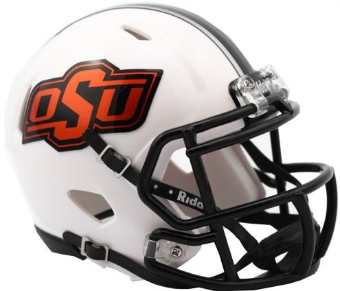 Oklahoma State Cowboys Riddell Speed Mini Collectible White Football Helmet